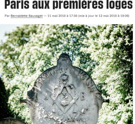 LE PARIS MAÇONNIQUE DANS LIBÉRATION