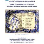Invitation / Journées Européennes du Patrimoine 2019